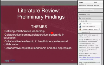 Roberta Timothy discusses methodology and findings from the CLiP LCP literature review